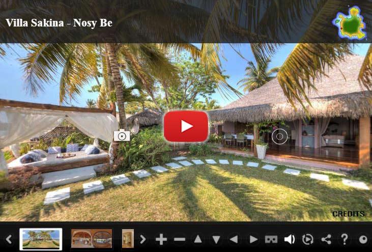 Visite virtuelle 360 villa Sakina