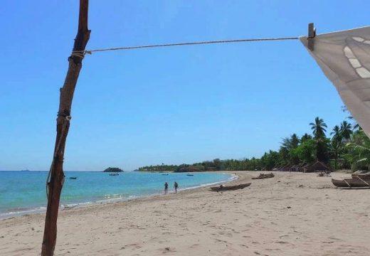 Vente terrain sur la plage d'Andilana dans le nord de Nosy Be à Madagascar