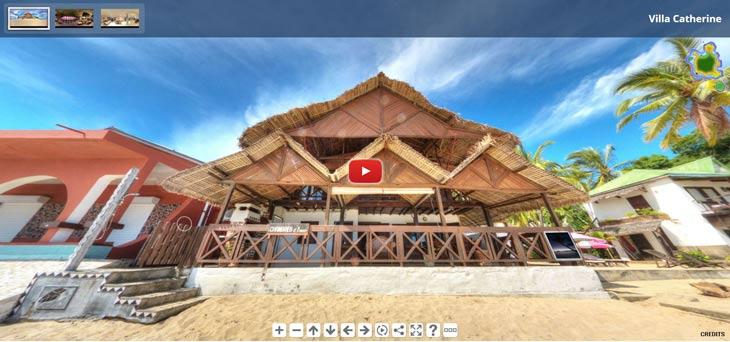 Visite 360 de la villa catherine