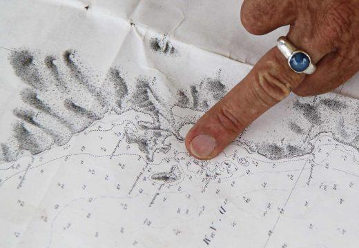 Point carte marine sur le Nofy Be
