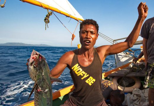 Pêche sur le Nofy Be